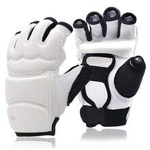 Боксерские перчатки для тхэквондо, каратэ, для спарринга, боевых искусств, боксерских тренировок, без пальцев, для женщин и детей, боксерские перчатки, бойцовые перчатки