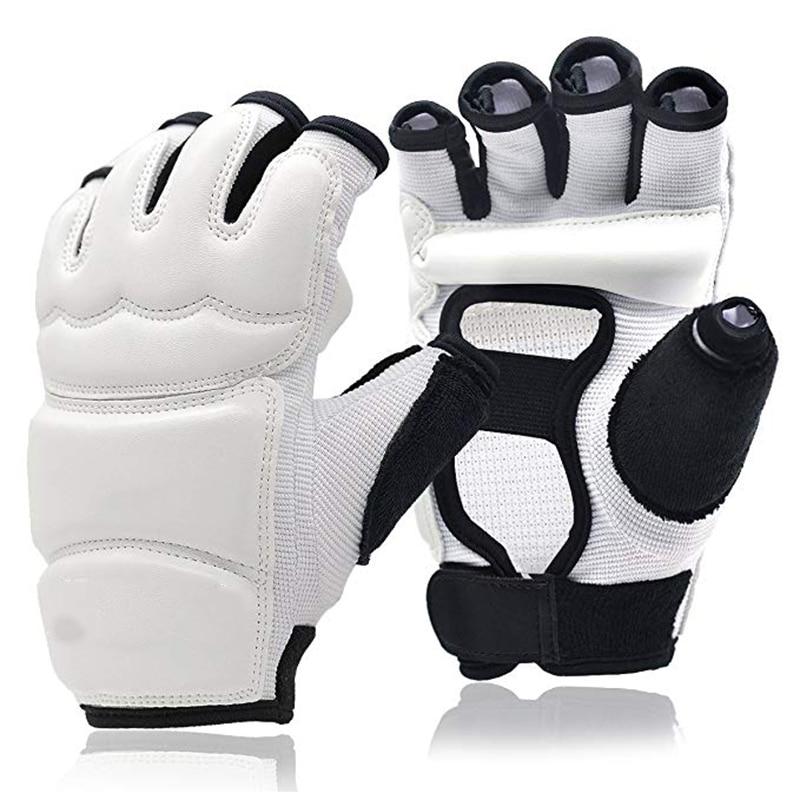 Punch Bag Taekwondo Karate Gloves For Sparring Martial Arts Boxing Training Fingerless Women Kids Ickboxing Fighting Train Glove