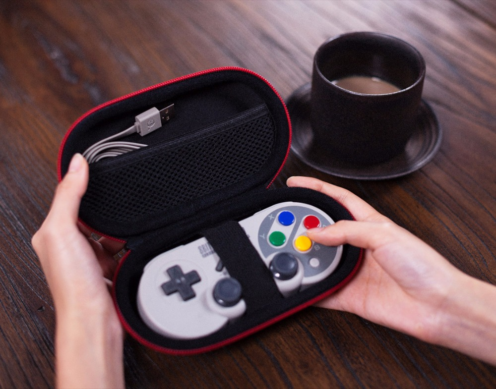 8BitDo Classic Controller Gamepad Travel Case Protection Bag 14