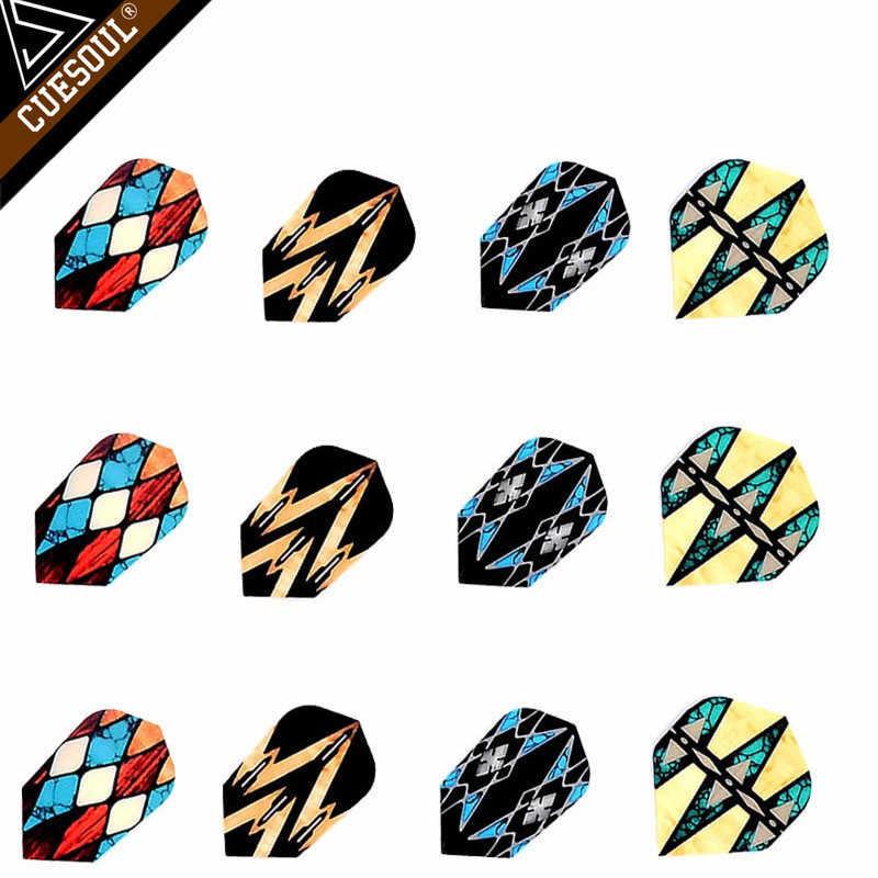 3 шт прикольные дротики Флайт оперения смешанный стиль для профессиональных дротиков крыло хвост крутой Крытый дартс игры