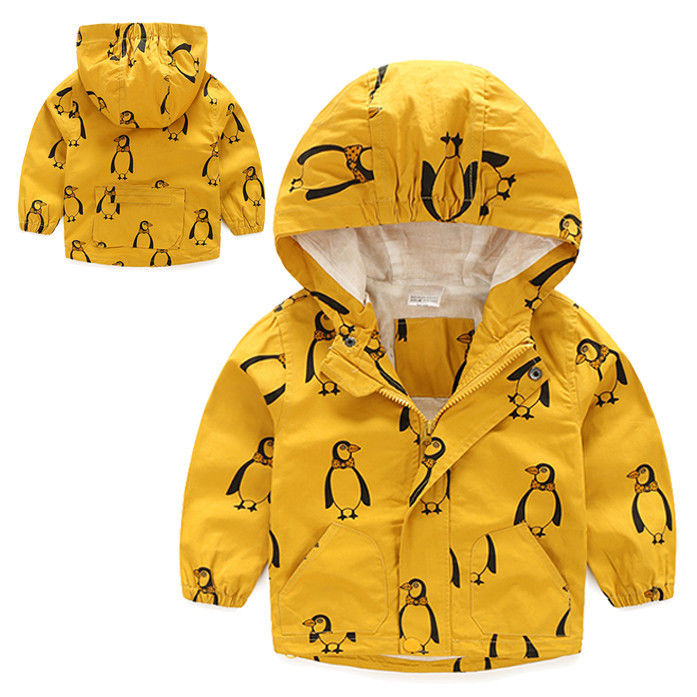 e98ef060948 2-8Year Toddler Kid Boys Clothes Child Stormbeak Waterproof Jacket Rain Coat  Windbreaker Clothes