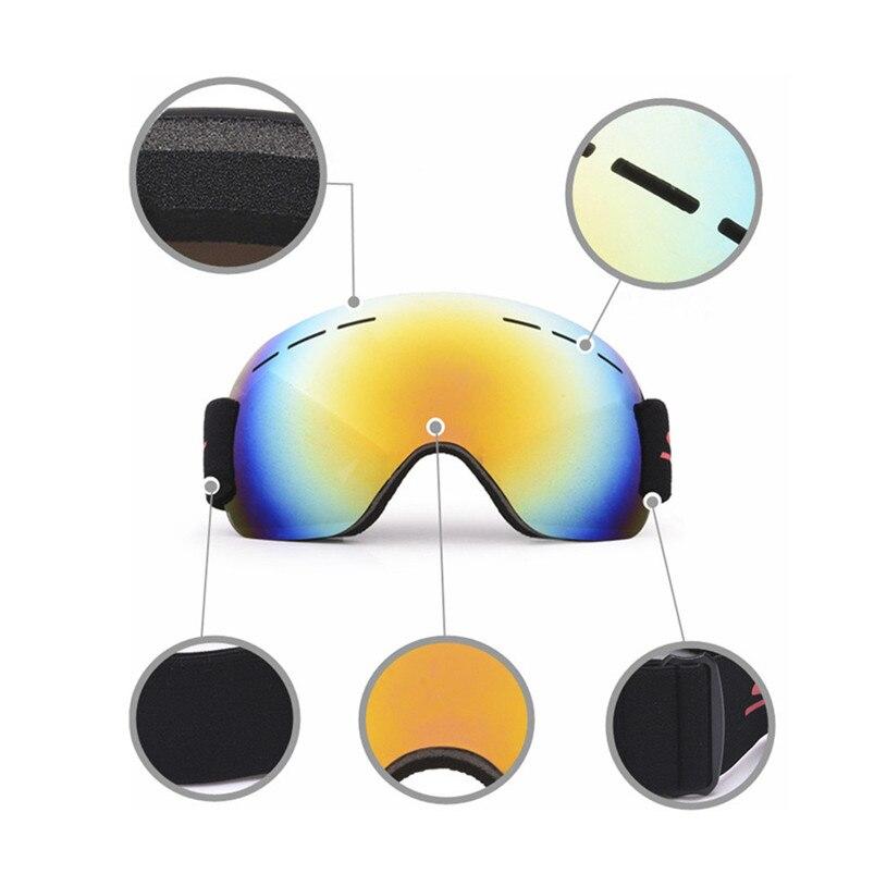 Snowboard Ski Goggles Gear Skiing Sport Adult Glasses Anti-fog UV Dual Lens Skiing Eyewear Outdoor sports Equipment #4S22 (3)