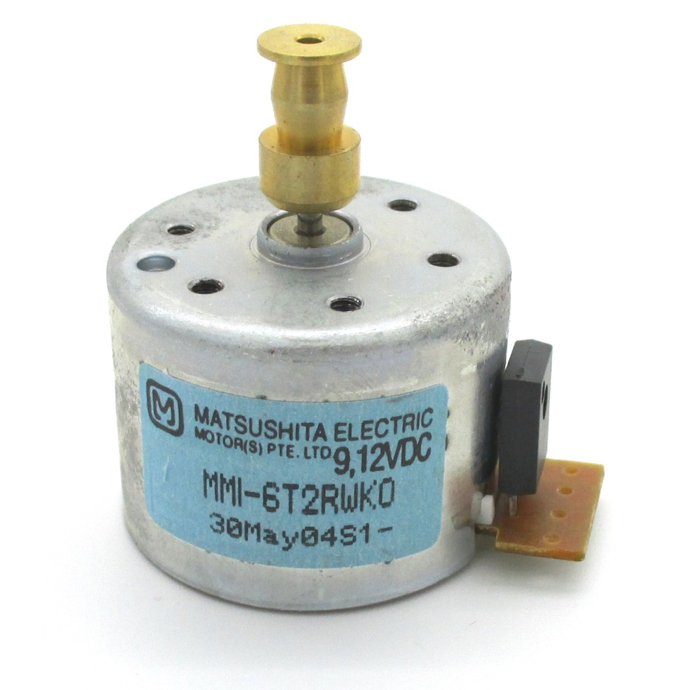 Brand New And Original AUDIO TURNTABLE MOTOR MMI-6T2RWK0 1-763-247-11 176324711 PART NO. FROM SONY