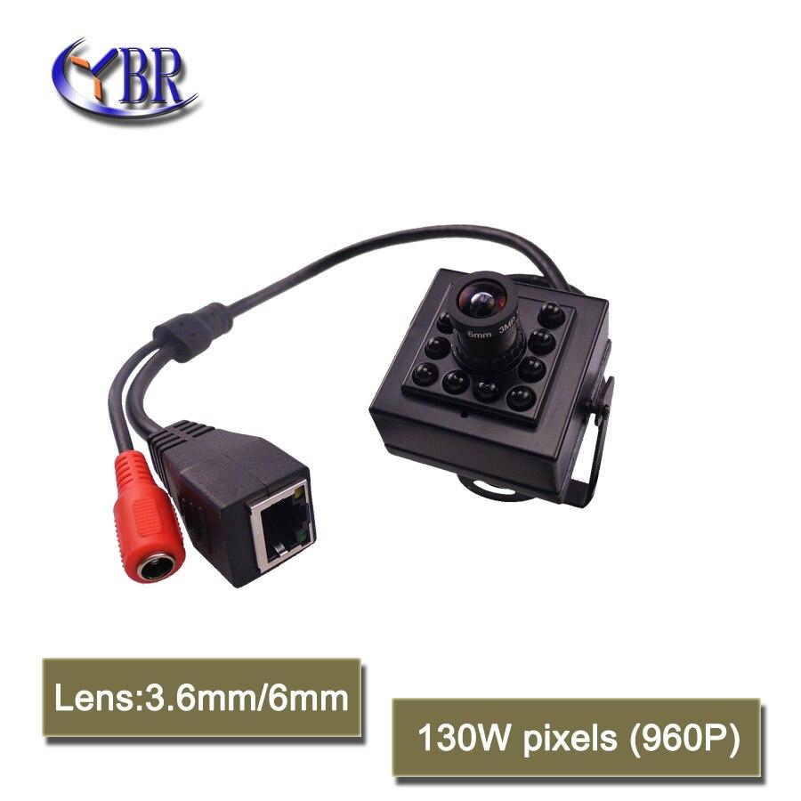 2017 Mini 960P Onvif Camara IP Home Security Cctv Camera 1.3MP Night Vision IR-