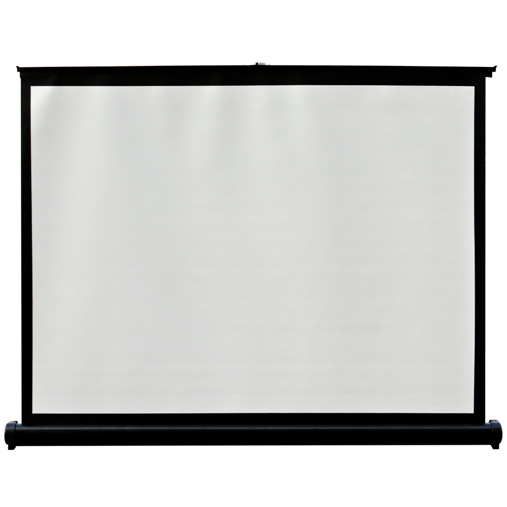 40 inches Projector Screen Matt White 4:3 Home Cinema Screen Projection Fabric 72 inches and the authenticity of the tripod white plastic screen projector projector screen