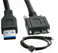 USB3 0 A Male To Micro USB 3 0 B Male Data Cable Cord Wire Line