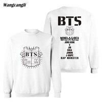 NEW 2018 Trendy BTS Bangtan Boy Group Memver Fans Kpop Women Men Capless Sweatshirt Hoodies Winter