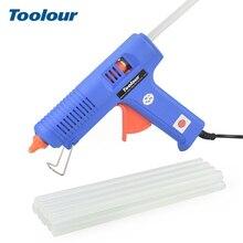 Toolour ЕС 100 V-240 V 150 W Промышленные термоклей пистолет с 11 мм Клеевые стержни Smart Контроль температуры Термальность клеевой пистолет DIY инструмент