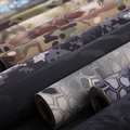 2016 Elásticas calças de Camuflagem adesivos Multicam camo 30 CM * 150 cm 19 cores opcionais para a tática de camuflagem MTP Multicam Preto