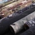2016 pegatinas de Camuflaje Multicam camo Elástico 30 CM * 150 cm 19 colores opcionales para tactical camuflaje Multicam MTP Negro