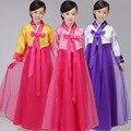 Korean Girl Children Ethnic Minorities Stage Show Hanbok Dance Suit Costume Danse Russe Traditional Court Dress Yukata