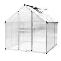 EHOMEBUY 2019 Aluminium Greenhouse Gartenhaus Mit Stahlfundament Treibhaus Agriculture Greenhouse Garden Easy Installation