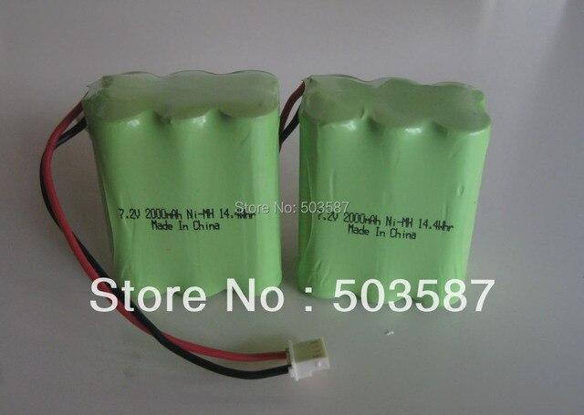 Lot of 2pcs New Ni-MH battery for MINT 4200/Braava 320 Robotic Vacuum Cleaner/ Replace GPHC152M07  7.2V 2500mAh Robotics!