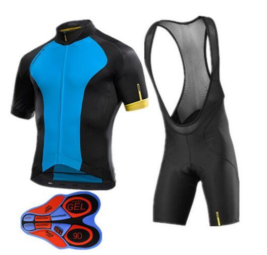 High Quality 2018 Mavic Cycling Set Black Cycling Clothing Quick-dry Mens Cycling Jersey Pro Team Ropa Ciclismo Maillot