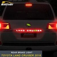 GELINSI задний тормозной фонарь лампа запасные части внешние аксессуары для Toyota Land Cruiser 2016 автостайлинг