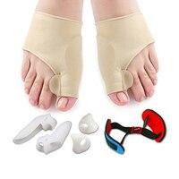 7 шт./лот регулятор боли выпрямление изогнутые пальцы Ноги Уход Инструмент гель ноги разделитель вальгусной деформации набор для коррекции