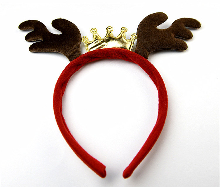 Christmas Reindeer Crown Shape Hairband Boutique Kid Hair Accessories Women  Girl Headbands-in Hair Accessories from Mother   Kids on Aliexpress.com ... 89c715e984a