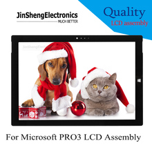 pro3 NEW Full For Microsoft Surface Pro3 1631 pro 3 LCD Display+Touch Screen Glass Assmebly TOM12H20 V1.1 LTL120QL01-003
