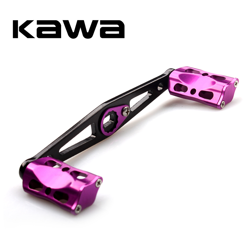 Kawa 2018 Fishing Reel Handle, Aluminum Handle Roker 8*5 Hole Size, 110mm Length Suit For Abu And Daiwa Reel, Free Shipping