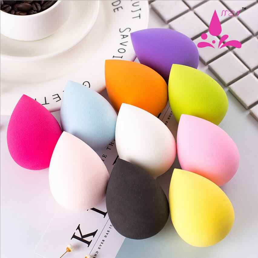 1PCS Soft Makeup Sponge powder puff Powder Professional Smooth Beauty Puff for Women Beauty Cosmetic Random Color