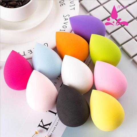 1PCS Soft Makeup Sponge powder puff Powder Professional Smooth Beauty Puff for Women Beauty Cosmetic Random Color Pakistan