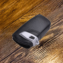Leather car Key bag case shell Cover Holder key case fit for BMW 5SERIES E70 E71 E90 F10 F30 F34 X1 X3 X4 X5 X6 X7 remote key cocolockey silicone key cover case for bmw x1 x3 x4 x5 x6 3 5 4 7 series e87 f20 e90 e92 e93 smart remote car key wallet