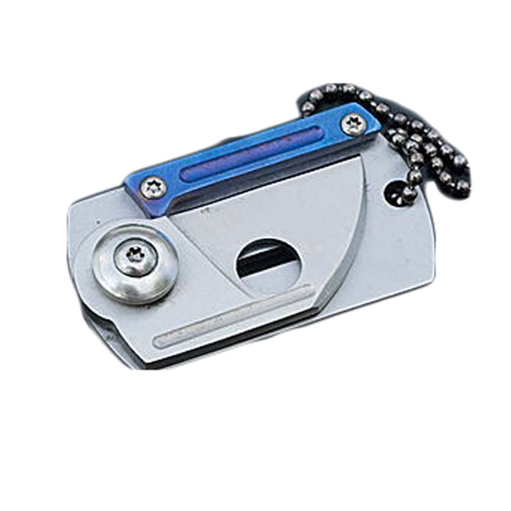 Mini Folding Blade Pocket Knife Dog Tag Key Chain Exquisite ...