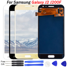 J2 LCD For Samsung Galaxy J2 display 2015 J200 J200F J200Y J200H J200G J200GU LCD Display Touch Screen Digitizer Assembly J200F replacement lcd display with touch screen digitizer assembly for samsung galaxy j2 asm j200f j200h j200m j200y j200g
