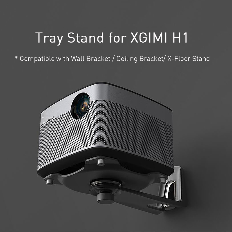 Image 5 - XGIMI лоток подставка для XGIMI H1 проекторы можно подключить с настенным кронштейном/потолочным кронштейном/X напольная подставка аксессуары для проектора-in Аксессуары для проекторов from Бытовая электроника on AliExpress - 11.11_Double 11_Singles' Day
