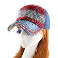 brand girl beauty cap whole pearl beaded rhinestone denim baseball caps women female woman novelty snapback hat luxury gorras