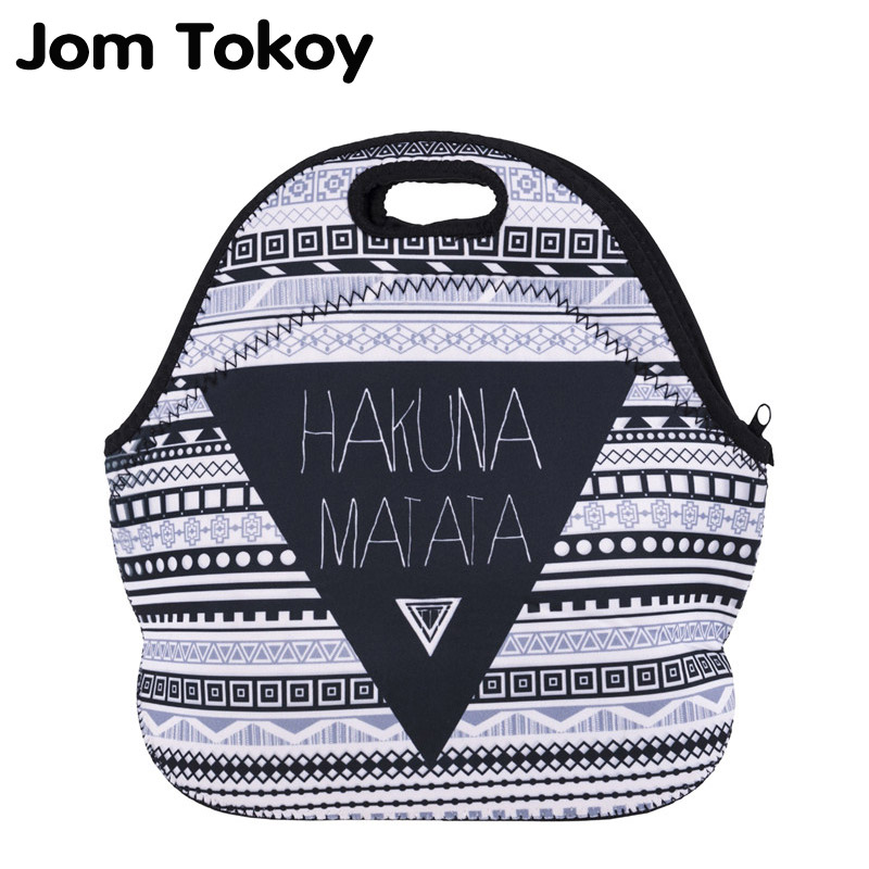 Jom Tokoy HakunaMatata Thermal Insulated 3d print Lunch Bags for Women Kids Thermal Bag  ...