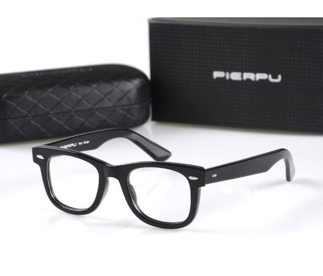2016 caliente de la manera diseño de Italia estilo 2140 retro personalizada tablón marco de anteojos anteojos recetados marco para los hombres con la caja