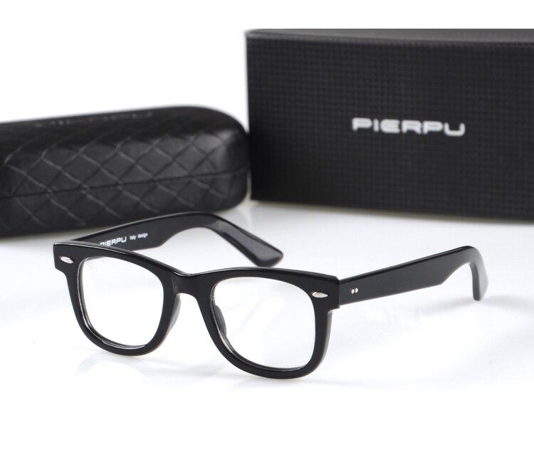 95ef096006 2016 Hot Fashion Italy Design Style 2140 Retro Personalized Eyeglasses  Plank Frame Prescription Eyewear Frame For Men With Box