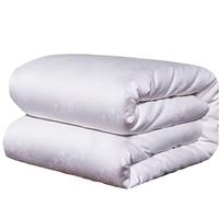 Natural Mulberry Silk Summer Blankets 100% Real Silk Filling Jacquard Summer Comforter Twin Queen King Size Soft Silk Quilt