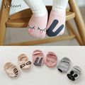 YOLFEERT 7 Colors Unisex Baby Floor Sock Baby Boy Girl Kids Children Cutu Animal Rabbit Rat Bear Pattern Socks Cotton