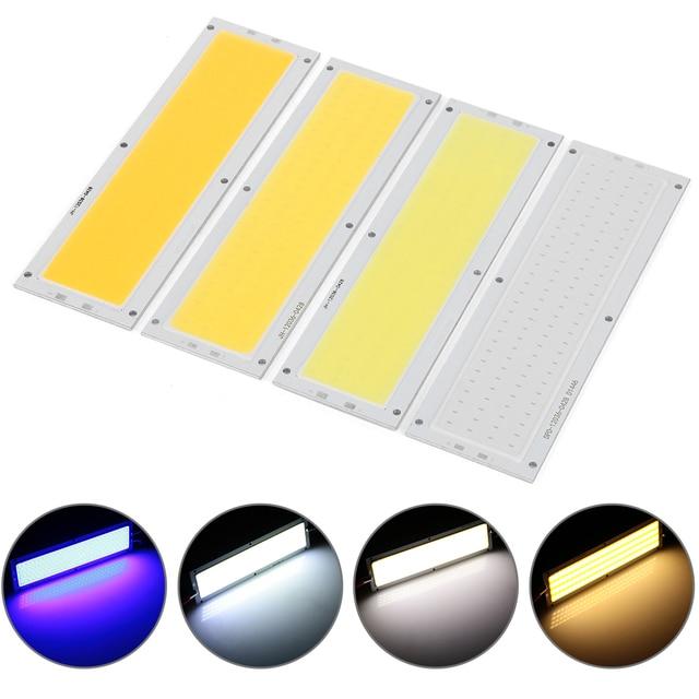 1 Pcs Praktis LED Panel Light 12 V 20 W COB LED Strip Lampu Lampu High Power Chip Hangat/ keren Putih 120X36 Mm Mobil Interior Lampu