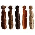 1PCS Retail 10 Colors DIY BJD Hair Wig 1/3 1/4 1/6 Handmade Wavy Curly Wig Doll Hair
