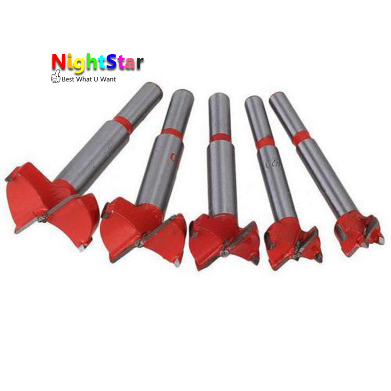 16 /20 /25 /30 35 mm Forstner Auger Drill Bits Set Woodworking Hole Saw Wooden Wood Cutter Drilling Power Tools with Round Shank 5pcs set 85mm forstner wood drill bit set 15 20 25 30 35mm hole saw cutter wood tools with round shank