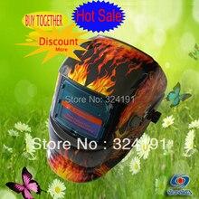 Hot sale Auto darkening skull welding mask  hood, welding helmets  face shields hat