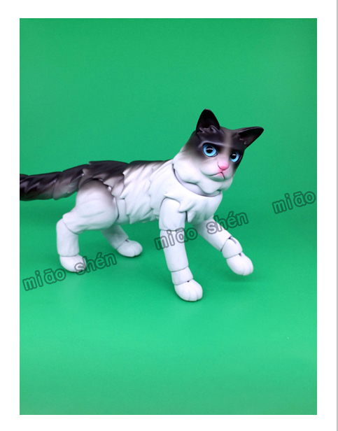 1 6 bjd joint doll puppet cat
