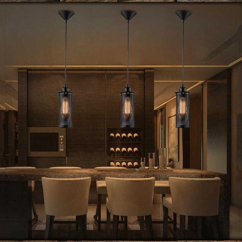 Ретро Лофт Винтаж свет Железный бар ресторан коридор столовая гостиная Магазин Бар Кафе лампы для люстры фар
