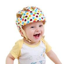 Детская Защитная Кепка для прогулок, мягкая, комфортная, регулируемая, для мальчиков и девочек