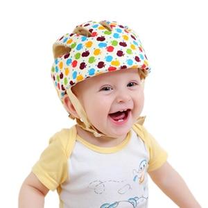 Image 1 - Bebek Güvenliği Öğrenmek Yürüyüş Kapağı Anti çarpışma Koruyucu Şapka Erkek Kız Yumuşak Rahat Kask Kafa Güvenlik Koruma Ayarlanabilir