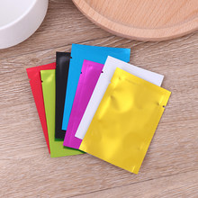 Colorful Aluminum Foil Bag Mylar Bags Vacuum Sealer Storage Pouches Food Savers Retail Packaging Tool 20pcs 6*9CM(China)