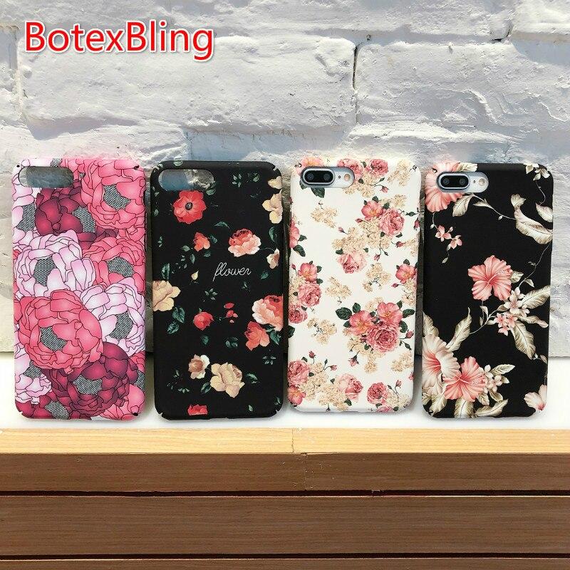 Per iphone xs max fiori paesaggio luminoso camouflage cassa dura del PC per il iphone XR X 7 7 plus 8 8 più di 6 6 s plus 6 più copertura 5 s