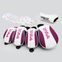 13 Pcs Golf Club Head Covers Iron Putter Protective Head Cover Putter Headcover Set Outdoor Sports Golf Accessories lady and men