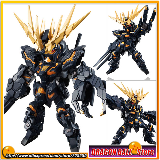Mobile Suit Gundam Unicorn Original Bandai Tamashii Nations NXEDGE STYLE Action Figure - Banshee (Destroy Mode) genuine bandai bb sd q version of the 392 neo zeong unicorn gundam 3 5 inch assembled with high quality