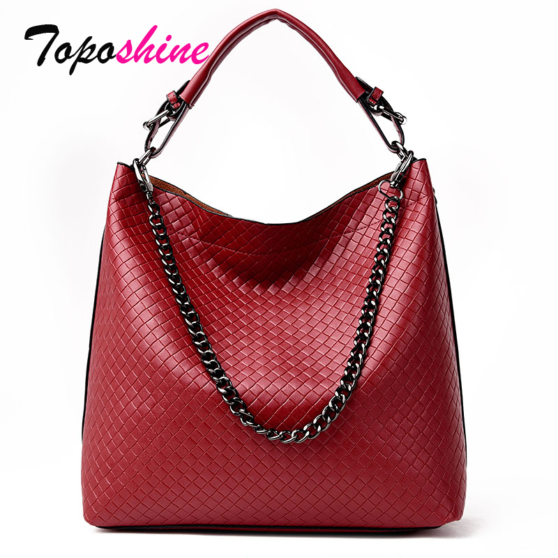 New Korean Fashion Personality Weave Buckets Temperament Wild Casual Shoulder Messenger Large Volume Handbags clasp shiny crystal shell handbags korean version of the new fashion personality wild casual shoulder messenger bag