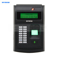 LCD Biometric Fingerprint PIN Code Door Lock Access Control 125KHz RFID ID Card Reader With USB