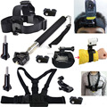 Accessory Monopod Mount Accessories Head Chest Wrist Strap Kit for Sony Action Cam HDR-AS15 AS20 AS30V AS100V